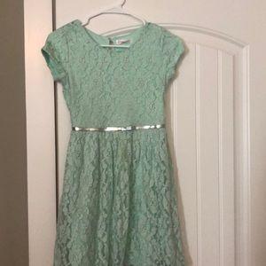 Girls Teal Dress